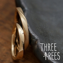 THREE TREES(スリーツリーズ)_一つの原型から複製して指輪制作! THREE TREES 手作り結婚指輪