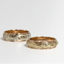 Maxi_two tone ring ~二つの素材を一つのリングに~