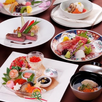 天童ホテル:【和洋中特別コース無料試食&来館特典付き】プレミアムフェア