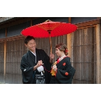 Studio Wedding(スタジオ結婚式):【和装でロケプラン】100カット/ロケ場所は兼六園など5か所から選べる♪