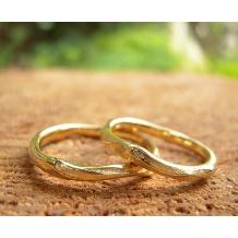 工房Noritake_木(屋久杉)をモチーフにした指輪です。