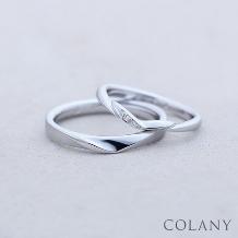 ブライダル専門店 KIORI DIAMOND_ずっとつける指輪【COLANY】 マリッジ/セットリング「スゥイートキャンディ」