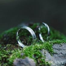 ブライダル専門店 KIORI DIAMOND_生涯、毎日つけられる指輪【COLANY】マリッジリング「クレマチス」