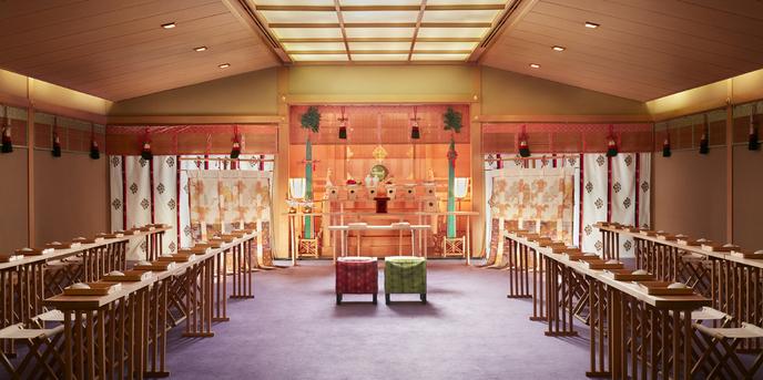 グランド ハイアット 福岡 神殿(神殿)画像1-1