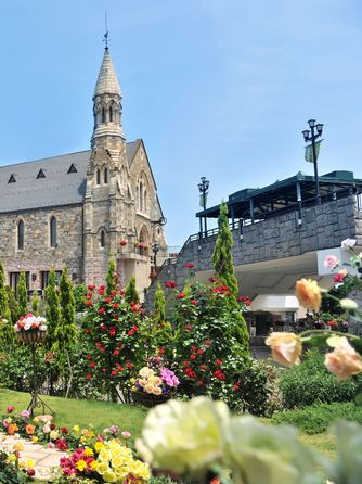 ホテルサンライフガーデン/グランドビクトリア湘南 チャペル(スコットランドから移築した本物教会)画像1-2