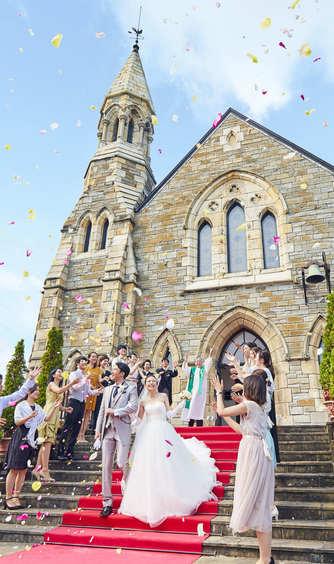 ホテルサンライフガーデン/グランドビクトリア湘南 チャペル(スコットランドから移築した本物教会)画像2-1