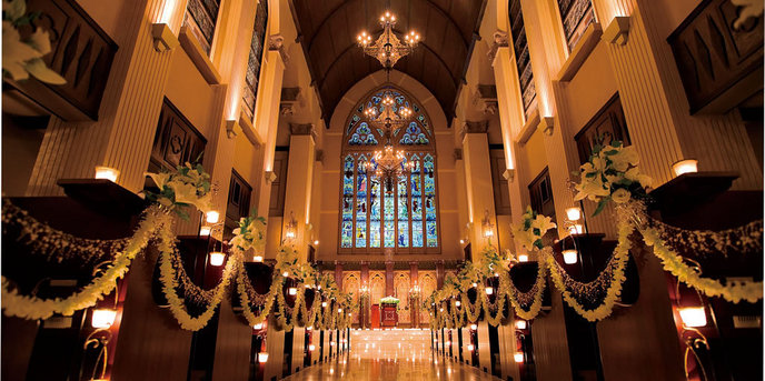 ブルーミントンヒル チャペル(挙式&パーティ★結婚式のための街)画像1-1