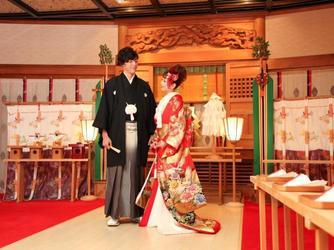 Royal Garden Palace 八王子日本閣 神殿(「縁結びの神」をまつる御殿山神殿)画像2-2