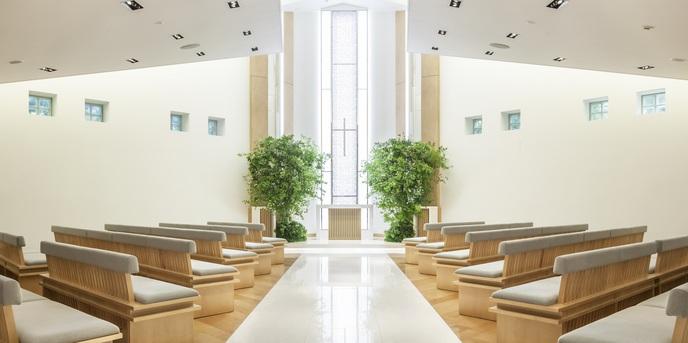 シェラトン都ホテル東京 チャペル(~杜のチャペル~緑の中の独立型チャペル)画像2-1