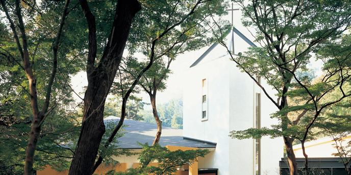 シェラトン都ホテル東京 チャペル(~杜のチャペル~緑の中の独立型チャペル)画像1-1