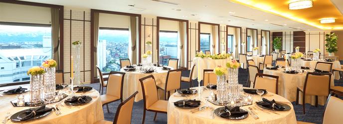 ホテルグランテラス富山 ホテル最上階スカイバンケット《ルーバン》画像2-1