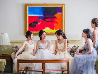 リーガロイヤルホテル 【光と緑のパーティ】ダイヤモンドルーム画像2-3