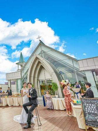 オークスカナルパークホテル富山 セレモニースペース(クラウドナインテラス)画像1-2
