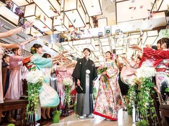 Japanese Resort Wedding SENKEI&KAHOU(ホテル泉慶・華鳳) 神殿(新挙式会場 縁-enishi-(館内)&ガーデン)画像2-4