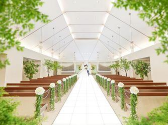 アルカンシエル luxe mariage 名古屋 セレモニースペース(「憧れ」×「おもてなし」両方叶える)画像1-2
