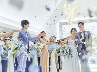 アルカンシエル横浜 luxe mariage チャペル(『新横浜駅徒歩2分!』開放感溢れる上質W)画像2-1