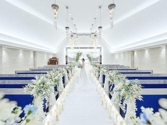 アルカンシエル横浜 luxe mariage チャペル(『新横浜駅徒歩2分!』開放感溢れる上質W)画像2-2