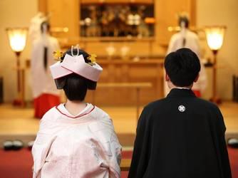 アートホテル盛岡 神社(盛岡八幡宮での挙式)画像2-1