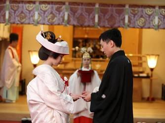 アートホテル盛岡 神社(盛岡八幡宮での挙式)画像2-2