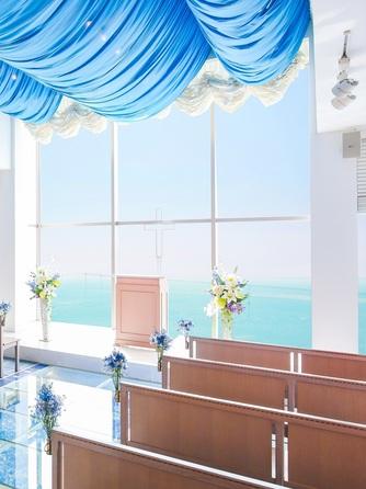三河湾リゾートリンクス チャペル(アットホームなリゾートセレモニー)画像1-2