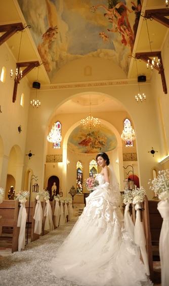 ブライダルタウン コリーナ チャペル(サンタモーレ大聖堂)画像2-1