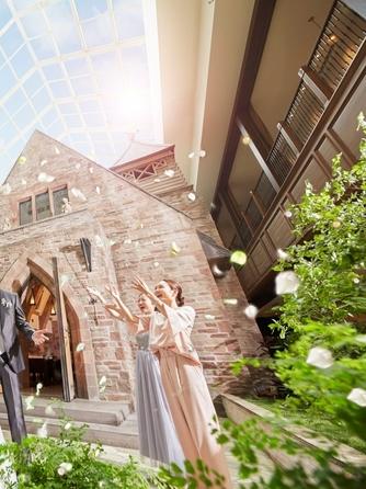 ホテルモントレ グラスミア大阪 チャペル(まるで映画のヒロインのように・・・)画像1-2
