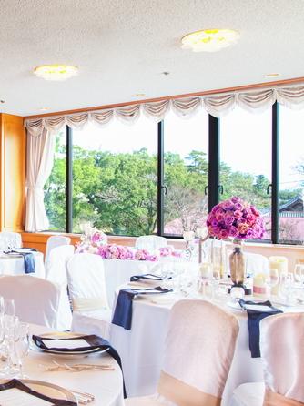 HOTEL NEW OTANI SAGA(ホテルニューオータニ佐賀) 40名様までの披露宴会場 有明-ありあけ画像1-2