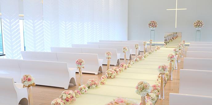 ヒルトン名古屋 チャペル(特別な誓いを大人可愛いスカイチャペルで…)画像1-1