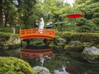 大井神社 宮美殿 庭園画像1-2