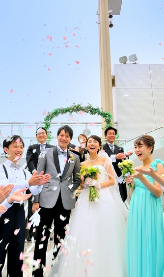 レンブラントホテル海老名(旧 オークラフロンティアホテル海老名) 笑顔が広がるふたりらしい結婚式を画像1-1
