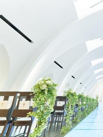 プレミアホテル-TSUBAKI-札幌 チャペル(自然光あふれる【スカイライトチャペル】)画像1-1