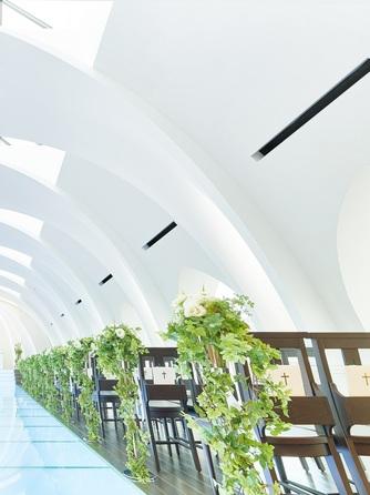 プレミアホテル-TSUBAKI-札幌 チャペル(自然光あふれる【スカイライトチャペル】)画像1-2
