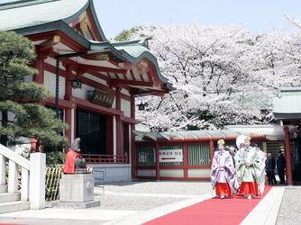 日枝神社結婚式場(日枝あかさか) 神社(ご社殿)画像2-2