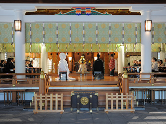 日枝神社結婚式場(日枝あかさか) 神社(ご社殿)画像2-1