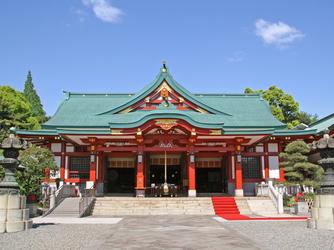 日枝神社結婚式場(日枝あかさか) 神社(ご社殿)画像1-2