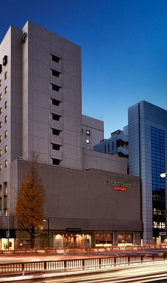 コートヤード・マリオット銀座東武ホテル/ACホテル・バイ・マリオット東京銀座 ロケーション画像1-1
