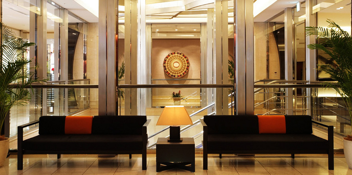 コートヤード・マリオット銀座東武ホテル/ACホテル・バイ・マリオット東京銀座 ロビー・エントランス画像1-1