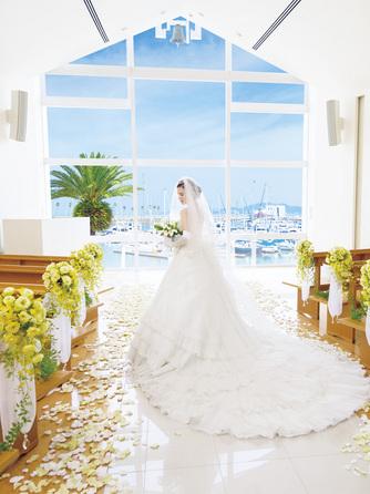 和歌山マリーナシティホテル チャペル(海の見えるチャペル)画像1-2