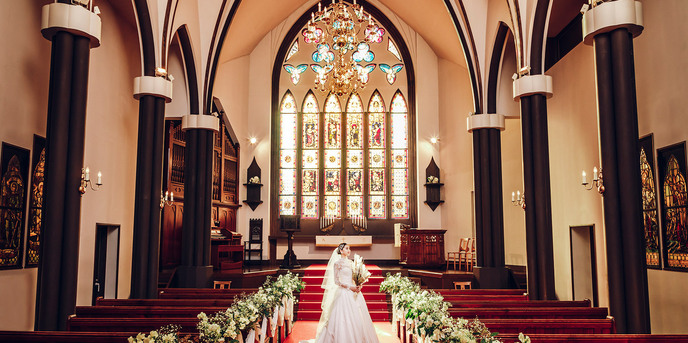 ST. MARGARET WEDDING(セント・マーガレット ウエディング) チャペル(200年の歴史を紡ぐ大聖堂と緑あふれる洋館)画像1-1