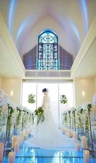 ダイワロイネットホテル和歌山 チャペル(「奇跡の瞬間」をつくるアクアチャペル)画像1-1