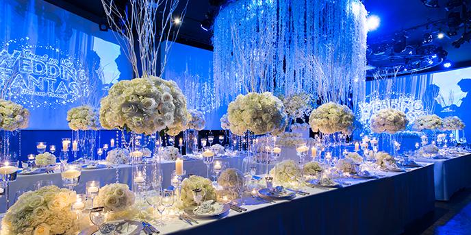 グローヴ ウィズ アクア スタイル 音×光×映像で100人100色の結婚式画像1-1