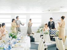 ロイヤルウイング ~Wedding Cruise~ セレモニースペース(Aデッキ サンデッキ)画像2-4