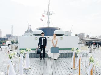ロイヤルウイング ~Wedding Cruise~ セレモニースペース(Aデッキ サンデッキ)画像2-2