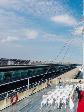 ロイヤルウイング ~Wedding Cruise~ セレモニースペース(Aデッキ サンデッキ)画像1-1