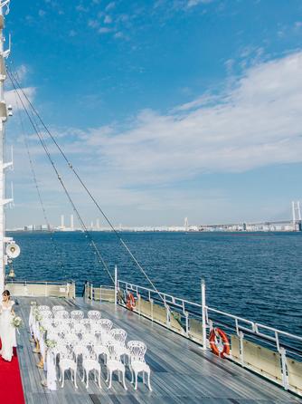 ロイヤルウイング ~Wedding Cruise~ セレモニースペース(Aデッキ サンデッキ)画像1-2
