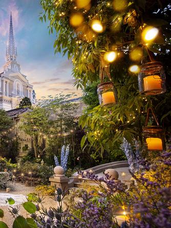 エスプリ・ド・ナチュール(Esprit de Nature) セレモニースペース(四季の緑豊かな大聖堂と洋館で過ごす自然美)画像1-2