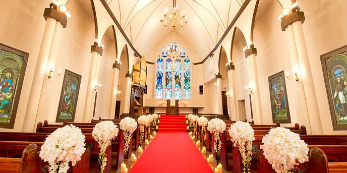 ベル・ブランシェ山形 チャペル(『聖プリエ教会』)画像1-1