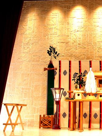 ティヌカーラ KANOYA 神殿(挙式会場で伝統的な神前式も可能。)画像1-1
