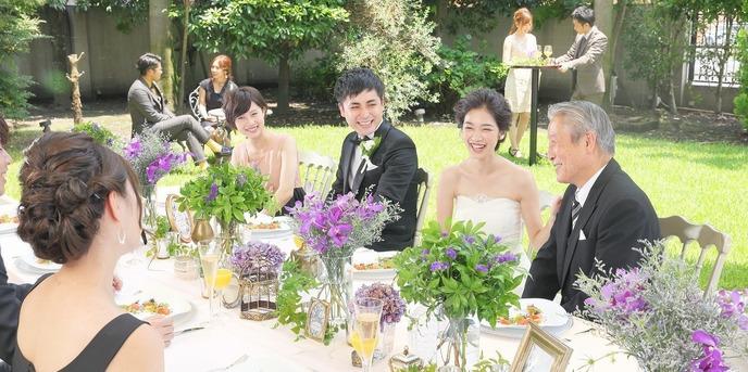 ティヌカーラ KANOYA ガーデンウェディングで笑顔弾ける!画像1-1