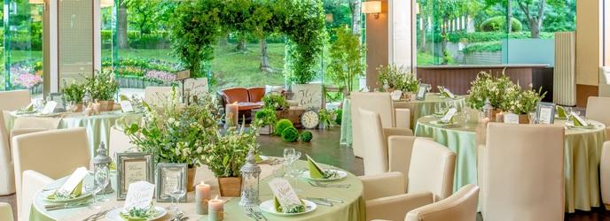 プレミアホテル 中島公園 札幌 中島公園の緑溢れる邸宅風貸切ウェディング画像2-1